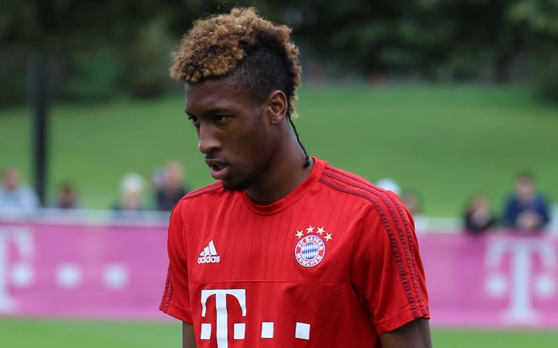 Kingsley Coman vom FC Bayern