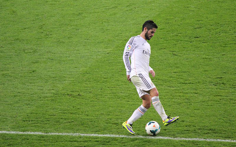 Isco von Real Madrid