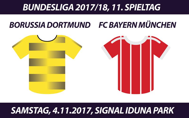 Bundesliga Tickets: Borussia Dortmund - FC Bayern, 4.11.2017