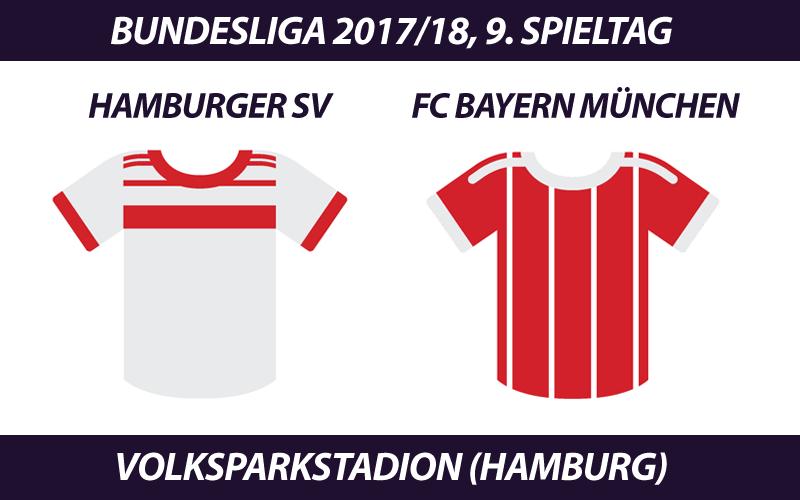 Bundesliga Tickets: Hamburger SV - FC Bayern, 9. Spieltag