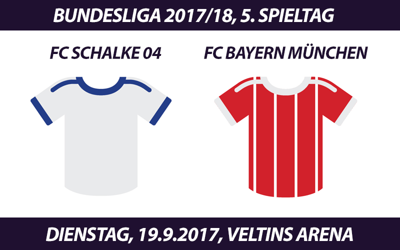 Bundesliga Tickets: FC Schalke 04 - FC Bayern, 19.9.2017