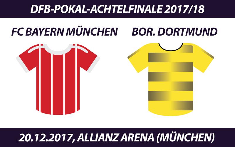 DFB-Pokal Tickets: FC Bayern München - Borussia Dortmund, 20.12.2017