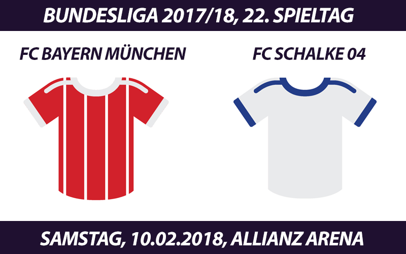 Bundesliga Tickets: FC Bayern München - FC Schalke 04, 10.02.2017